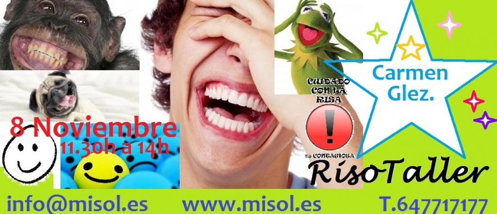 Taller de la risa en Barcelona. Risotaller 08.11.14 en Misol