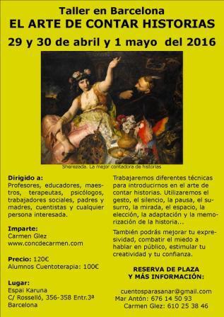pq El arte de contar historias 29y30ab y 1myo