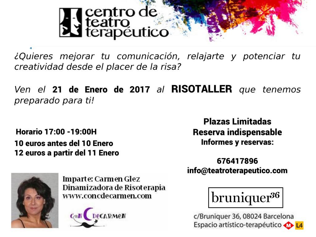 Taller del riure - 21/01 - Barcelona