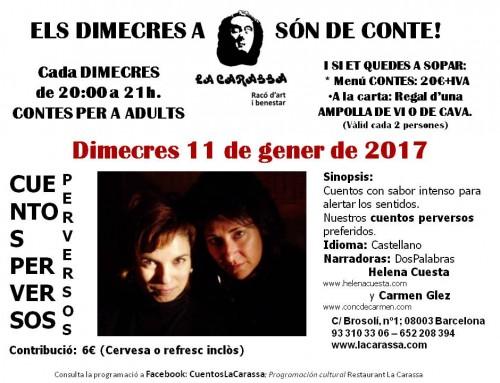 Contes Carassa – 11 gener 17
