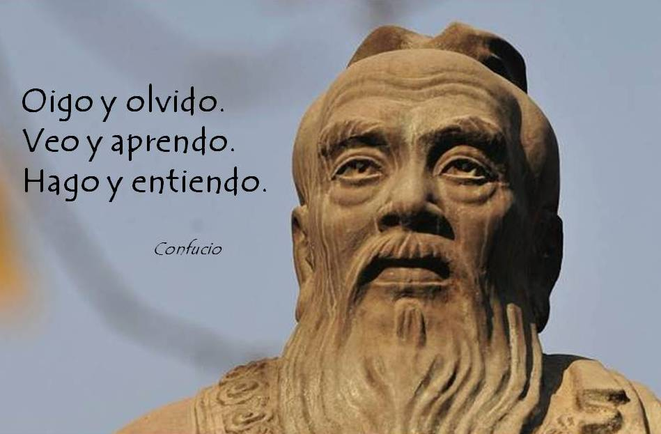 Dinamicas para empresas. Cita Confucio