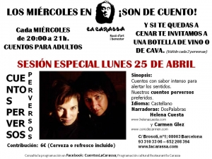 Sesión especial 25.04.16