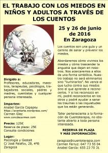Miedos 25 y 26 junio 2016 Zaragoza