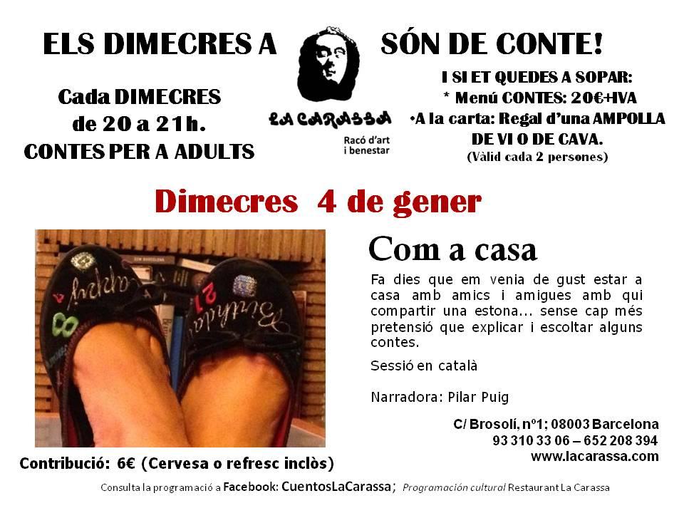 Cuentos Carassa - 4 enero 2017