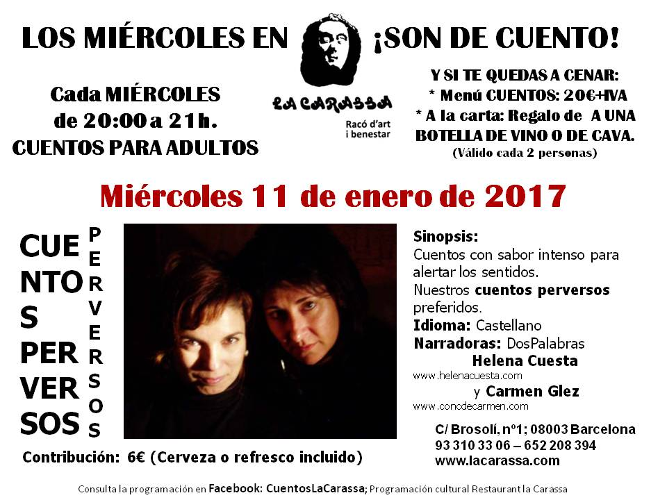 Cuentos Carassa - 11 enero 2017