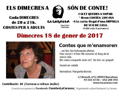 Contes Carassa – 18 gener 17