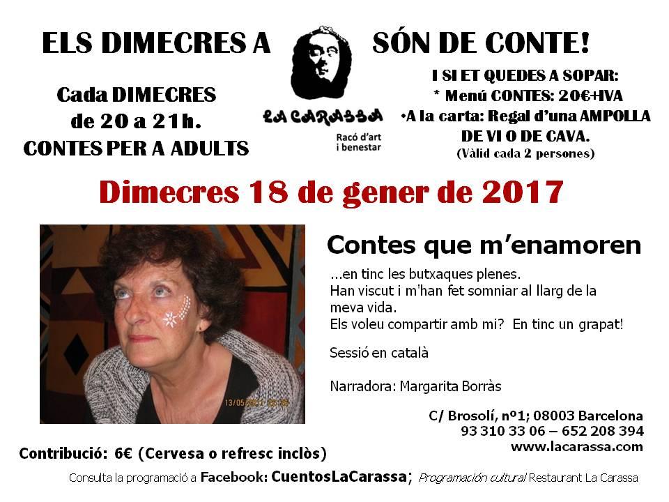 Contes Carassa - 18 gener 17