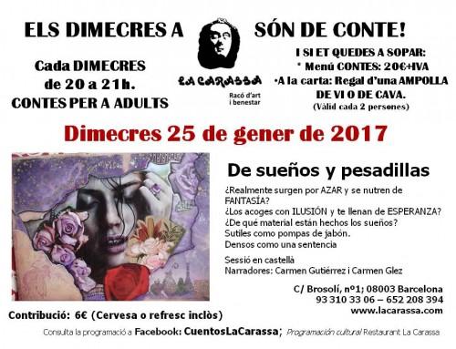 Contes Carassa – 25 gener 17