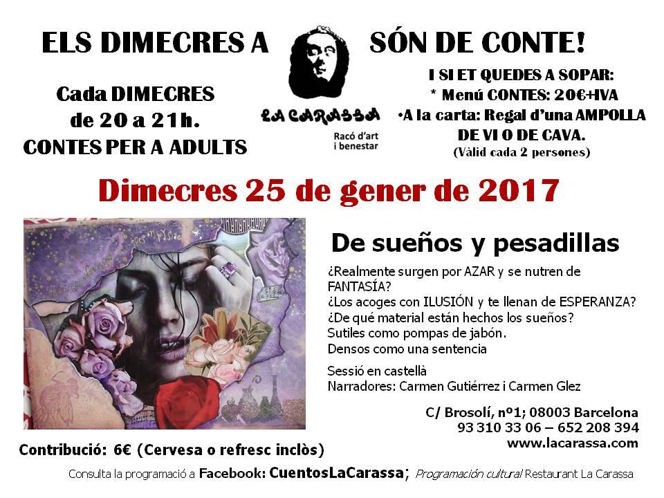 Contes Carassa - 25 Gener 17